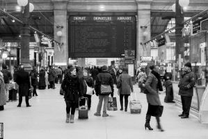 Gare du Nord 1 by PatriceChesse