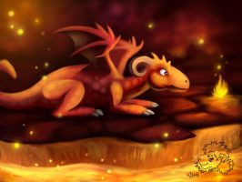 Fire Dragon by jrtracey