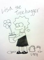 Lisa the Treehugger by komi114