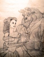 Belle and Beast... by monkeynutt
