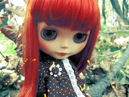 Red-haired Blythe by celesblur