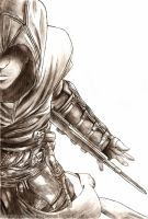 Assassin's Creed: Altair Fanart by Shirogahara