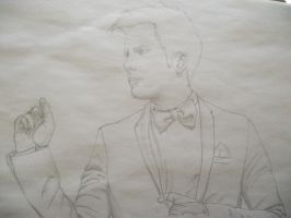 Patrick Stump pencil sketch1 by Armadeo
