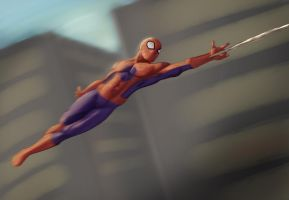 Spiderman by GregMartin1991