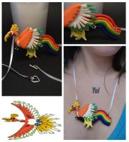Ho Oh Necklace by The-Erin-show