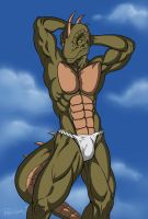 My new fundoshi by ReptileCynrik