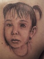 Portrait Tattoo to Coral by curi222