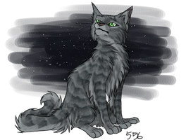 Hello, mother in Starclan by Kocurzyca
