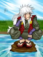 Jiraiya by lornac1208