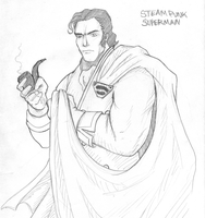 Steampunk Superman by jmao by RBL-M1A2Tanker