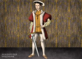 King Edward VI of England by MoonMaiden37