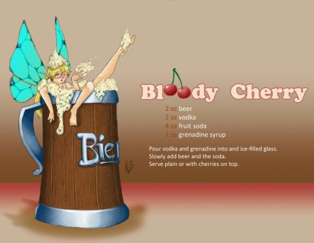Fairy: Beer Drinks by Sehad