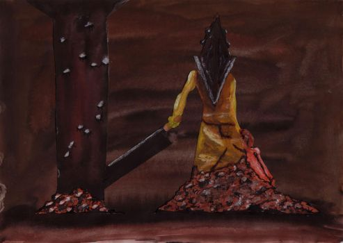Silent Hill Knight by emillampe