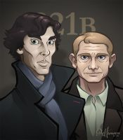 SHERLOCK by thousandfoldart