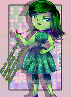 FF_Disgust Inside Out by KiaCookie