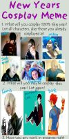 Cosplay meme 2013 by TechnicolourCity
