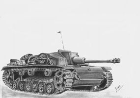 STuG 3 Ausf F by p40kittyhawk