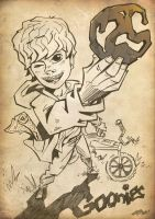 Goonies 25th Sketch by ArkadeBurt