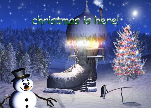 Xmas is in the Boot by GillsDigitalWorld