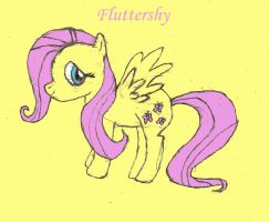 Fluttershy (Painted) by FluttershysFan