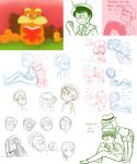 Lorax Old Sketch Dump by Gilzean