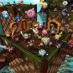 Kirby 3D - 20th Anniversary by robbienordgren