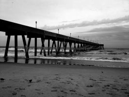 Wrightsville Beach B+W by Tony-Garcia