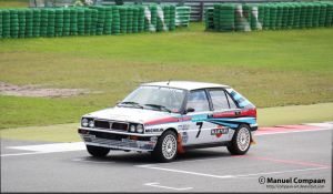 Lancia  Delta HF Integrale Rally Car by compaan-art