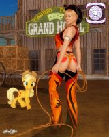 Applejack's Leather Style Collection by Axel-Doi
