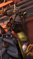 Junkrat (iWallpaper) by RainbowHoovez