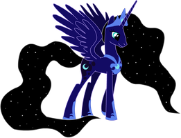 Adult Princess Luna by shadypony