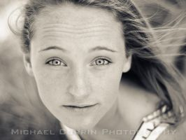 Catherine shoot IV BnW by TheSoftCollision