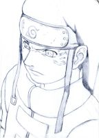 Neji from Naruto. by inarion7