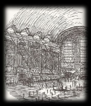 Grand Central Doodle by hiipnotiic
