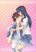 Oga x Aoi: Let me hold you by Iwonn