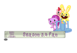 Htf season 3 and 4 fan button by ZDT500