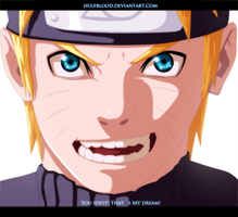 Naruto ch594 You idiot! That`s my dream! by HulfBlood