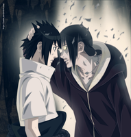 Uchiha Sasuke and  Itachi by ioshik