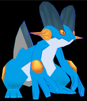 Swampert Done by javierini