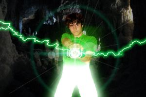 It's Morphin Time Green by MostlyMichael