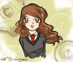 Hermione Magical Circle by hacques