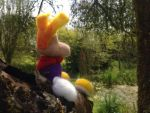 Needle Felted Rayman 02 by raygirl