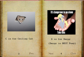 Teh Book of Memes Page 2 by Sir-Yiffington