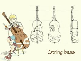 Weapon: String Bass by soapdish