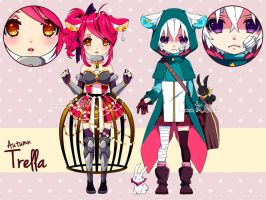 ADOPTABLES - Autumn Trella batch01 [CLOSED] by inma