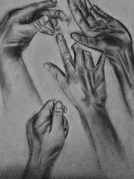 Hand Sketches by JessicaAFitzgerald