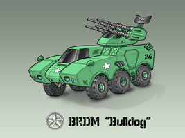 BRDM 'Bulldog' colored by vpRaptor