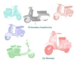 lambretta brushes pack by ilnanny