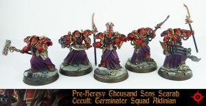 PH Scarab Occult Terminator Squad 2 by Proiteus