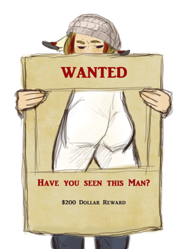 Have you seen this man? by Lear-is-not-amused